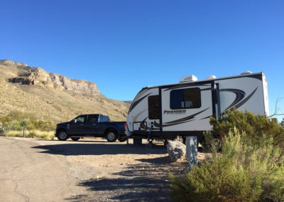 Our wonderful guests Jim & Randi exploring Big Bend National Park